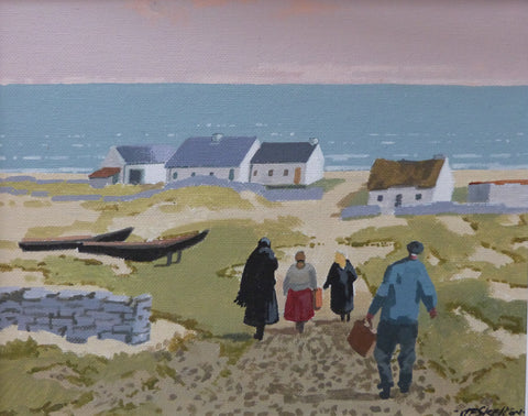 "John Francis Skelton  ""The Relatives"", Aran. Galway."