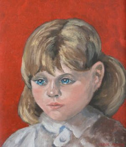 "Leslie Allen ""Portrait of a child 1"""