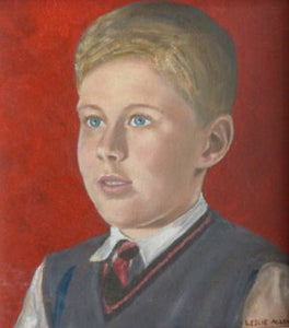 "Leslie Allen ""Portrait of a Child 2"""