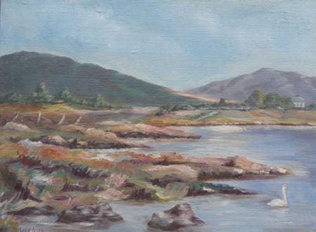 "Leslie Allen ""West of Ireland Landscape"""