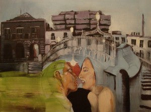 "Tom Byrne ""Lovers aLong the Ha'Penny Bridge"""
