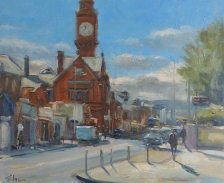 "Norman Teeling ""Rathmines Village, Dublin"""