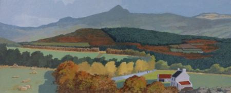 "John Francis Skelton ""Sugar Loaf, Autumn, Wicklow"