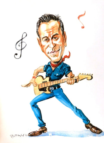 "Ray Sherlock ""Bruce Springsteen"""
