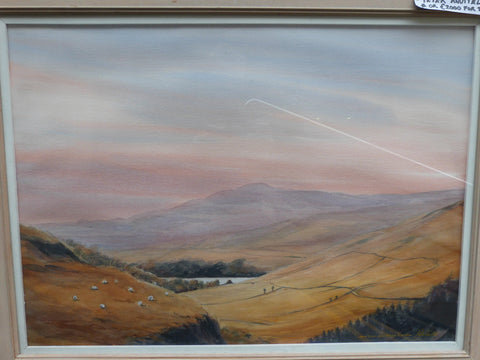 "Peter Knuttel ""Autumn at Lough Dan, Co. Dan, Co. Wicklow"""