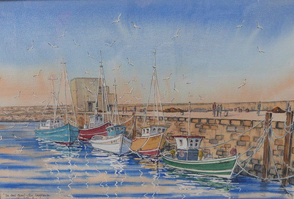 "Jim Scully ""The Coal Quay Harbour, Dun Laoghaire"""