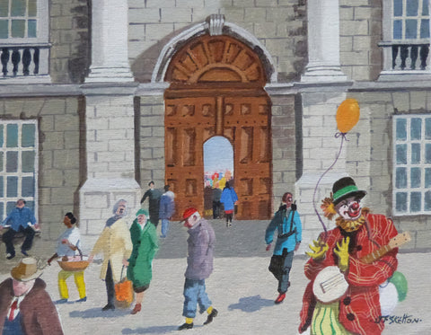 "John Francis Skelton ""Clowning Around at Trinity College Dublin"""