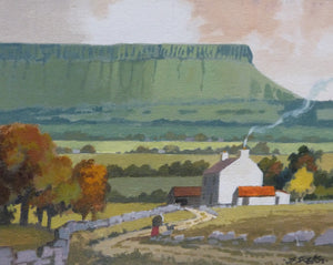 "John Francis Skelton ""Emerald Fairy Tomb"", Ben Bulbin, Sligo"