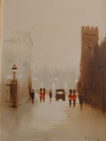 "Anthony Klitz ""Palace Guards II, London"""