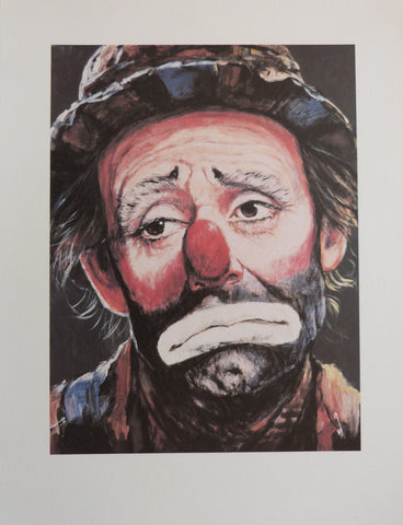 "Barry Leighton Jones ""Emmett Kelly as Weary Willie"""