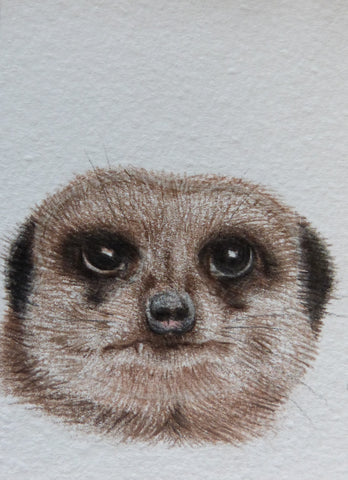 Minature - E Peters - Meerkat II