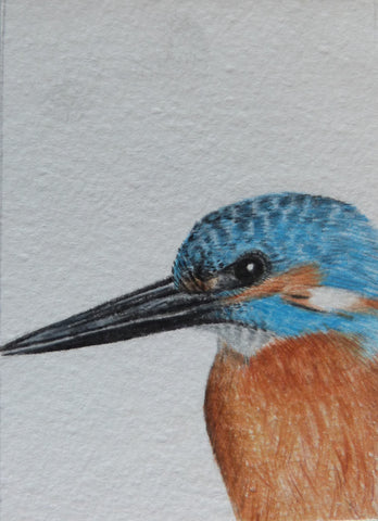 Minature - E Peters - Kingfisher