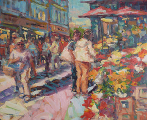 "Norman Teeling ""Sunshine Galore on Grafton Street Dublin"""
