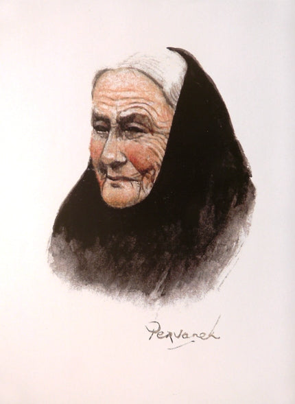 "Pervaneh ""Old Irish Character 1"""