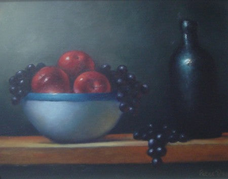 "Peter Dee ""Fruit and Honey Pot"