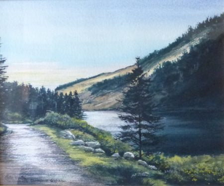 "Peter Knuttel """"The Upper Lake, Glendalough"""