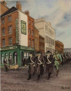 "Peter Knuttel ""From Liberty Hall to the GPO 1916"""