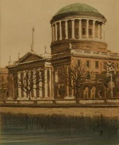 "Peter Knuttel ""The Four Courts Dublin"""