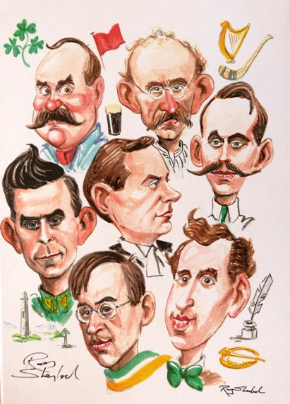 "Ray Sherlock ""Easter Rising 1916 signatories"""