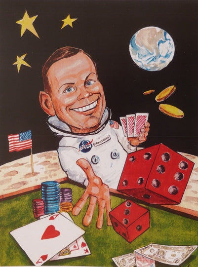 "Ray Sherlock ""Neil Armstrong"""