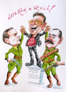 "Ray Sherlock ""Rock star salutes Anglo Irish Agreement - Bono, Connolly and Pearse"""