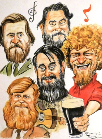 "Ray Sherlock ""The Dubliners"""