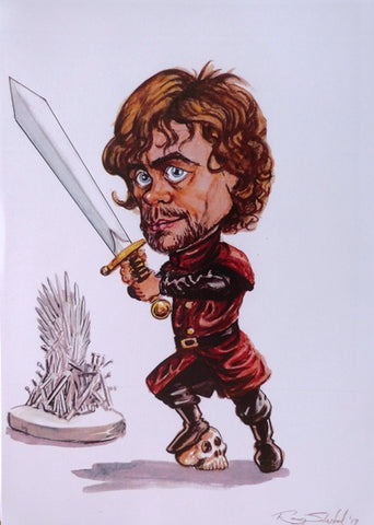 "Ray Sherlock """"Peter Hayden Dinklage as Tyrion Lannister in Game of Thrones (TV drama)"