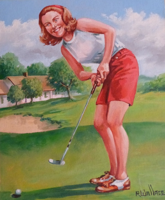 "Roy Wallace ""A Perfect Putt"" (2007)"