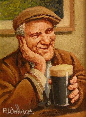 "Roy Wallace ""A quiet pint"""