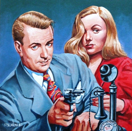 "Roy Wallace ""Alan Ladd and Veronica Lake"""