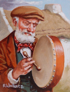 "Roy Wallace ""Bodhran Player"" (2006)"