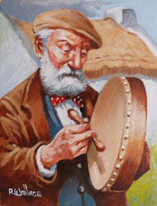 "Roy Wallace ""Bodhran Player"" (2007)"