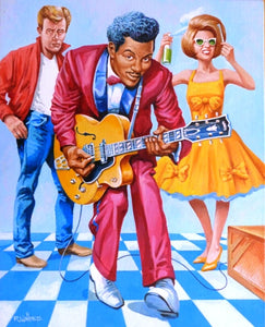 "Roy Wallace ""Chuck Berry 1955 - Pioneer and innovator of rock 'n' roll""(2008)"