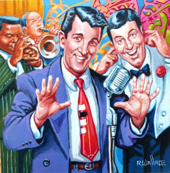 "Roy Wallace ""Dean Martin (Dino Paul Crocetti) and Jerry Lewis (Jerome Levitch) - comedy team from 1946-56)"""