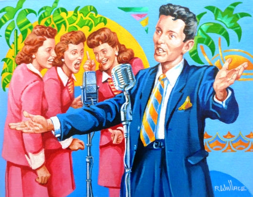 "Roy Wallace ""Frank in the 40s with the Andrew Sisters"" (2009)"