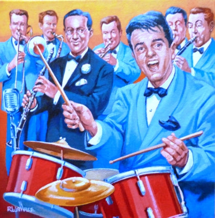 "Roy Wallace ""Gene Krupa (drummer) and Benny Goodman"