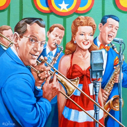 "Roy Wallace ""Glenn Miller, Frances Langford and Tex Benecke"" (2008)"