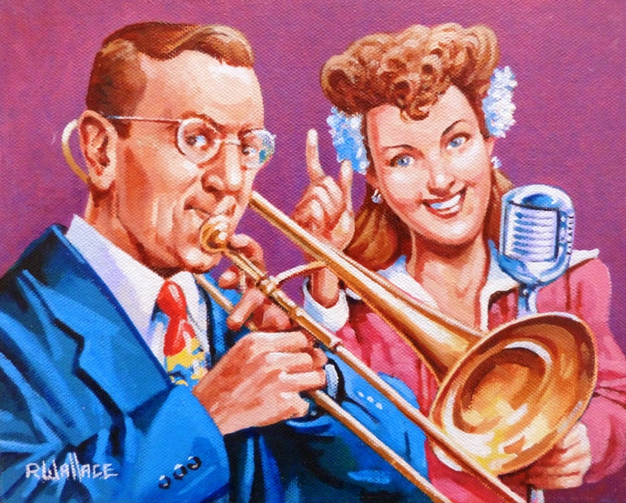 "Roy Wallace ""Glenn Miller and Band Vocalist"""