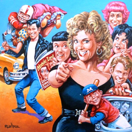 "Roy Wallace ""Grease, John Travolta and Olivia Newton John"""