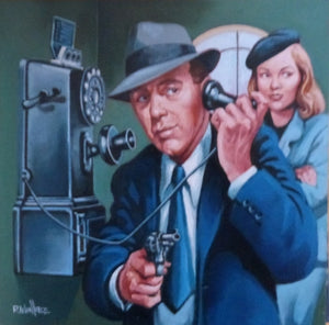 "Roy Wallace ""Homage to Film Noir, Humphrey Bogart and Lauren Bacall"" (2007)"