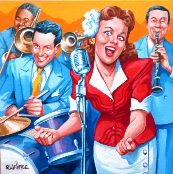 "Roy Wallace ""Jazz Singer 1940s"" (2008)"