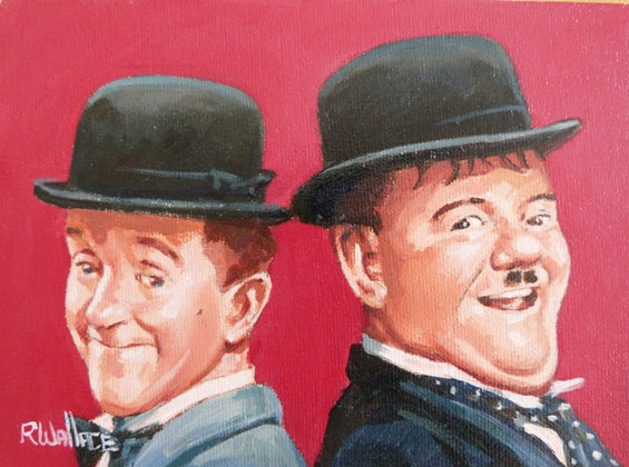 "Roy Wallace ""Laurel and Hardy II"""