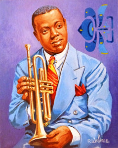 "Roy Wallace ""Louis Armstrong, jazz trumpeter"" (2008)"