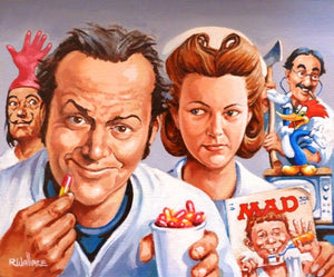 "Roy Wallace ""One flew over the cuckoo nest 1975 with Jack Nicholson and Louise Fletcher"" (2007)"