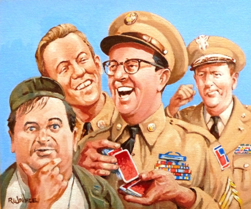 "Roy Wallace ""Phil Silvers as Sgt. Bilko, US Comedy TV series 1955-1959"" (2008)"