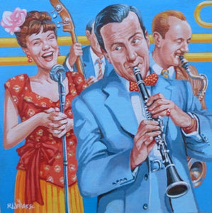 "Roy Wallace ""Rehearsal - Artie Shaw, clarinetist 1940s"" (2008)"