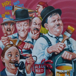 "Roy Wallace ""Stan Laurel and Oliver Hardy"" (2009)"