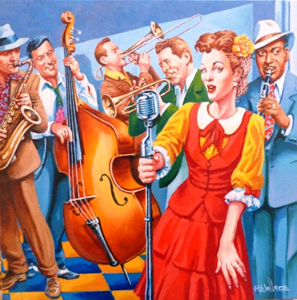 "Roy Wallace ""The Audition 1940s"""
