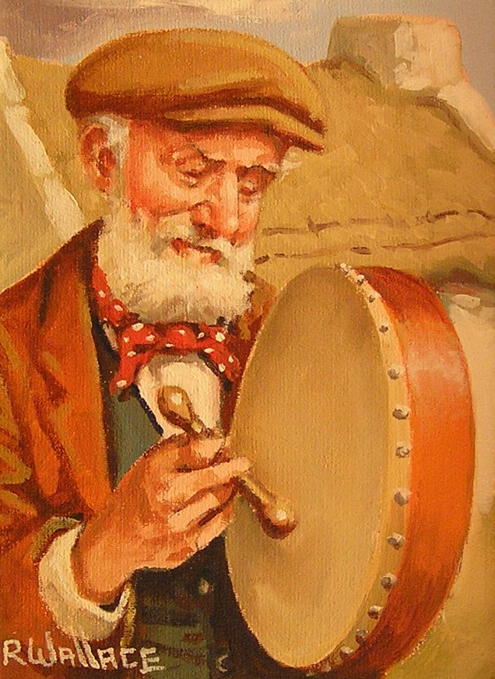 "Roy Wallace ""Trad Musican Bodhran Player"""