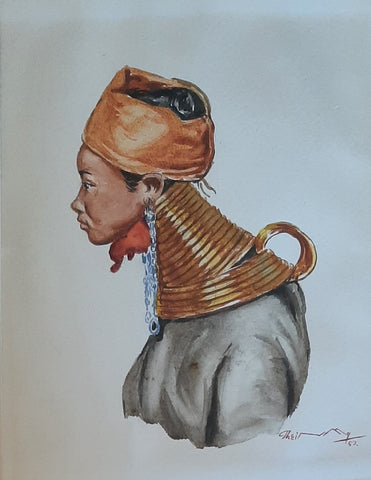 "Thein Han ""Burmese Long Neck Tribe woman"""
